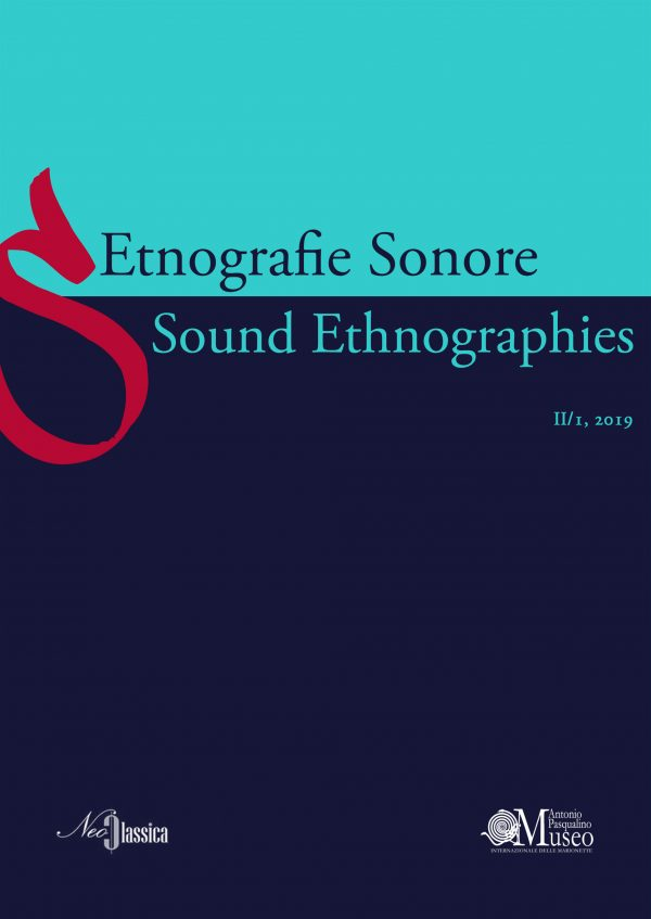 Etnografie sonore / Sound Ethnographies (II/1, 2019)